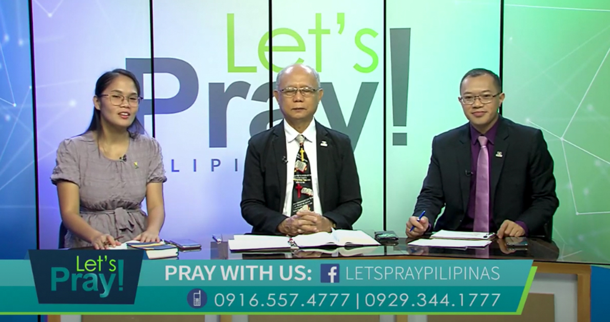 "Let's Pray Pilipinas | April 17, 2021 | ""Army of God: Missionary-Minded"""