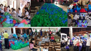Disaster Response to the typhoon affected people in Cagayan by NorthEast Luzon Mission