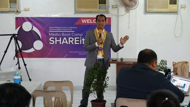 "Hope Channel Philippines Joins NPUC Communication Department ""SHARE IT"" Media Boot Camp"